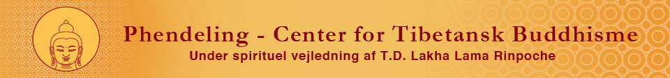 Velkommen til Phendeling – Center for Tibetansk Buddhisme Logo